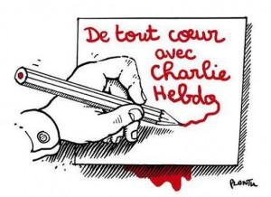 Plantu - Je Suis Charlie