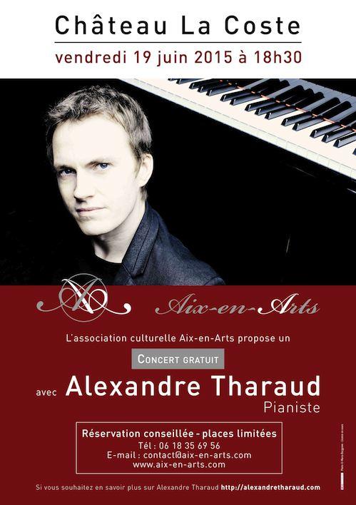 Alexandre Tharaud - concert au Château Lacoste