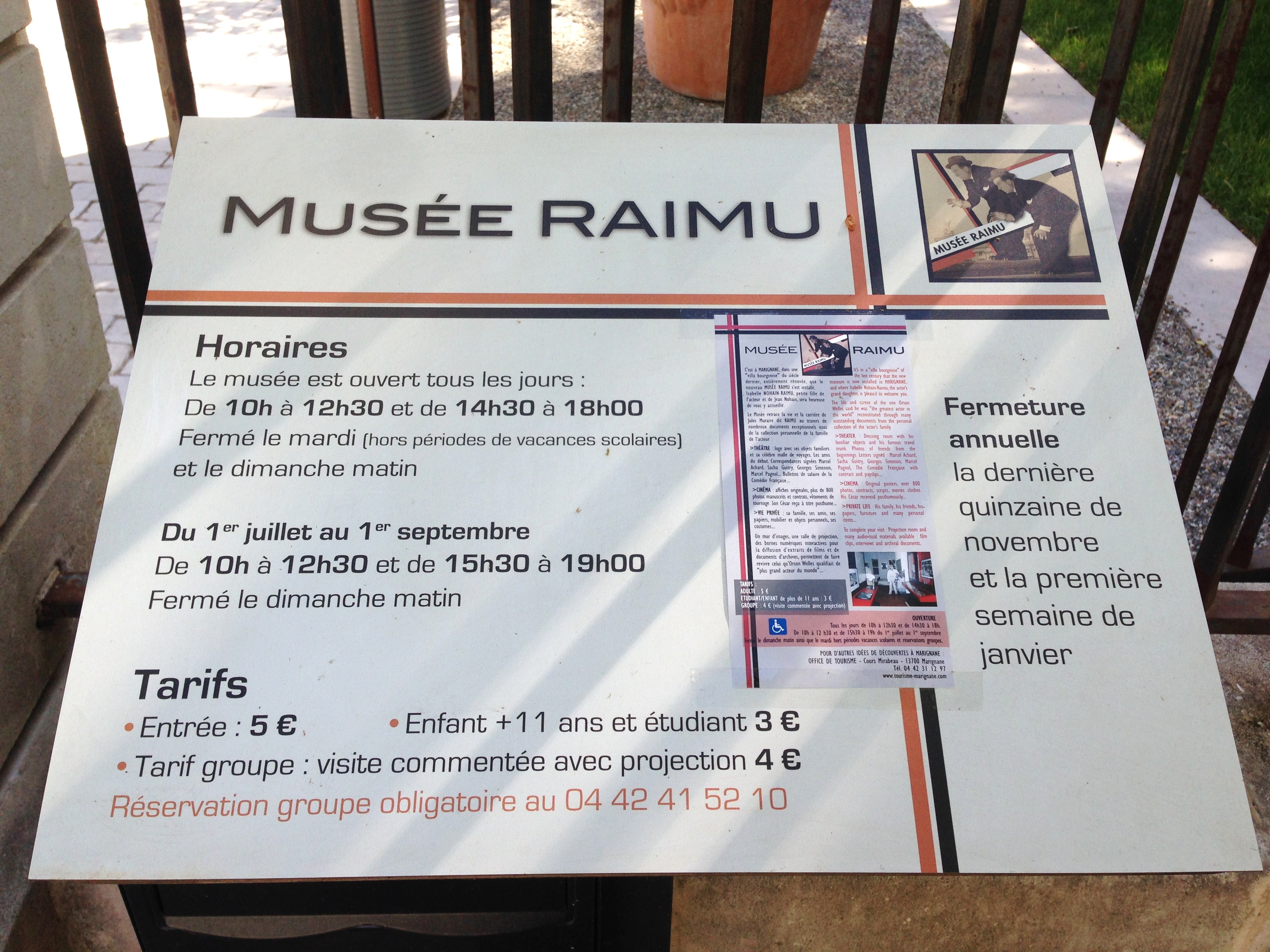 Musée Raimu _ Marignane