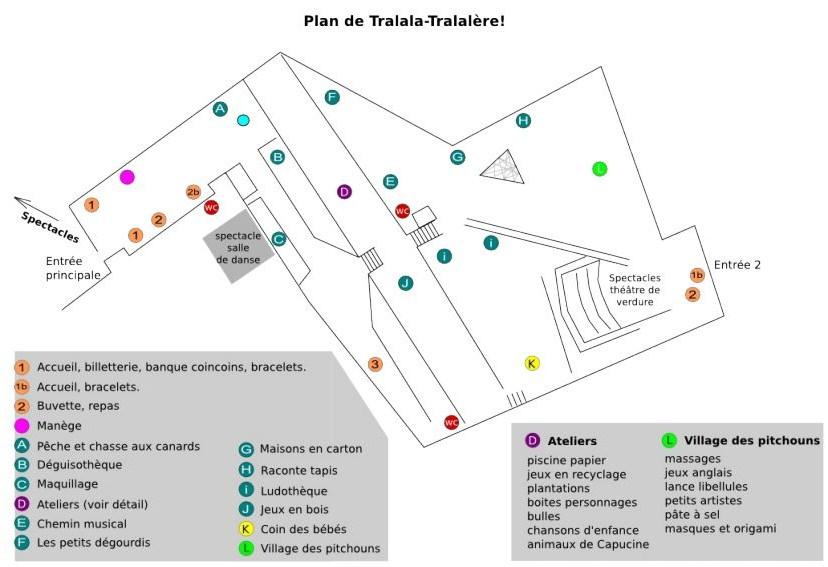 Plan Tralala Tralalère