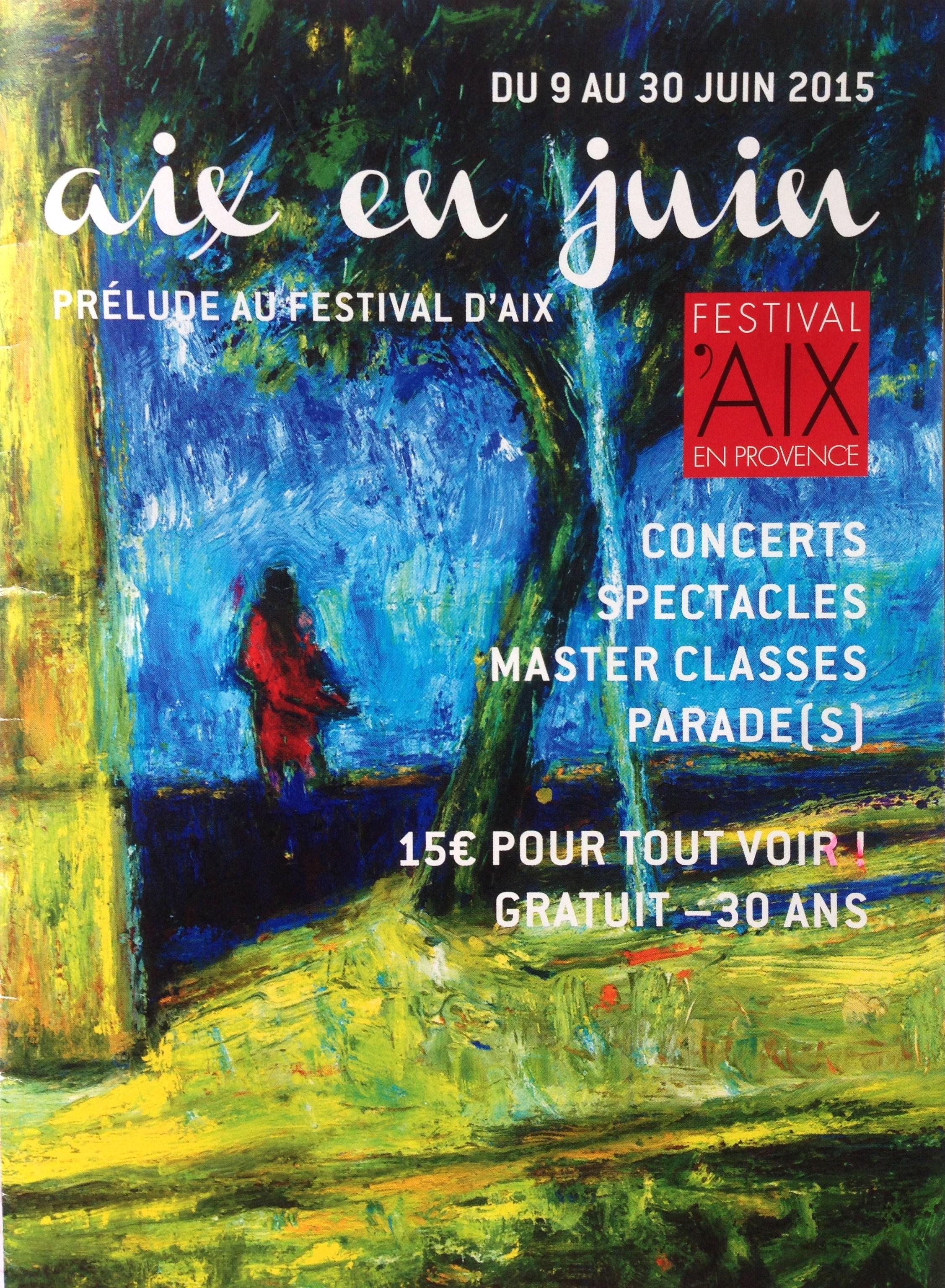 Programme Aix en juin