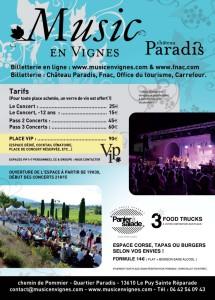 Musique en Vignes 2015 - Château Paradis