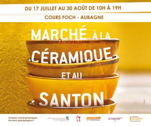 Marche de la céramique et du santon