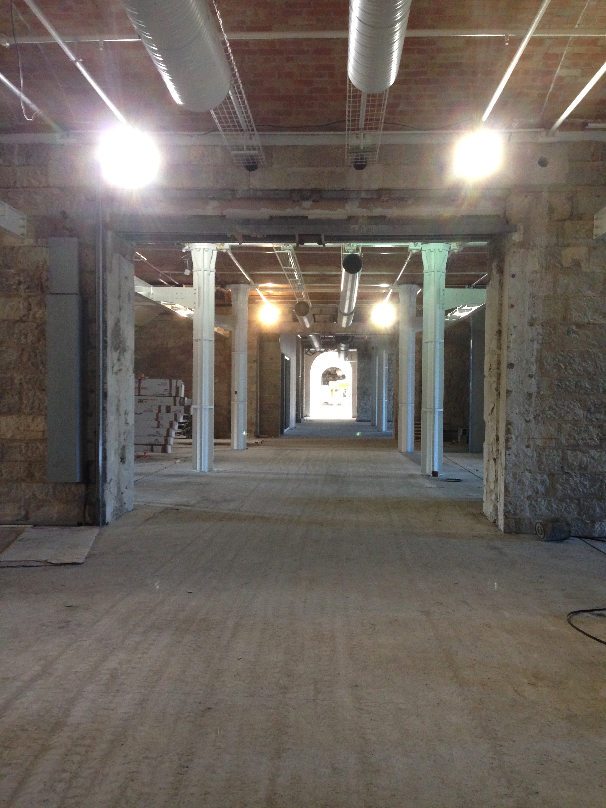 Visite de chantier aux Docks Marseille