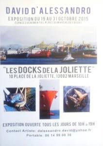 Expo David D'Alessandro aux Docks de la Joliette