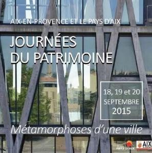 JEP2015 AIX et Pays d'Aix