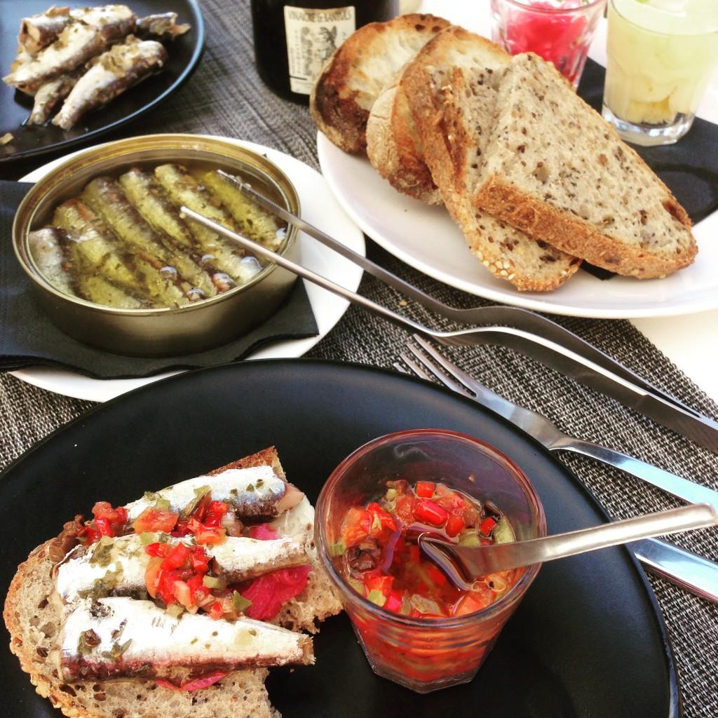 Sard'in, le 1er bar à sardines au monde et il est à Marseille ;)