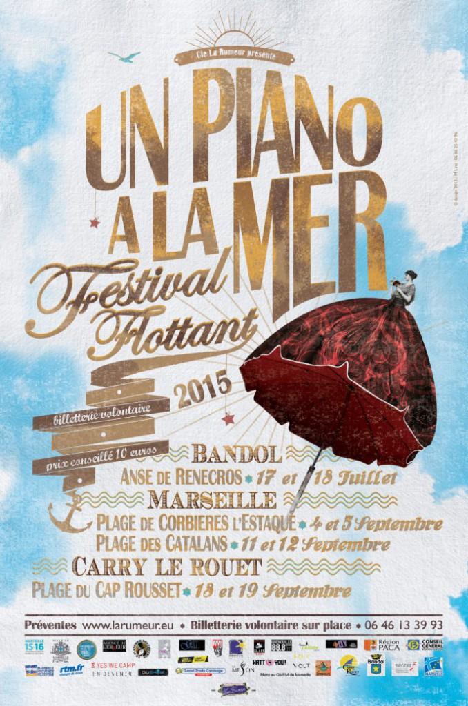 Un piano à la mer - Festival Flottant