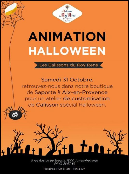 Halloween Les Calissons du Roy René