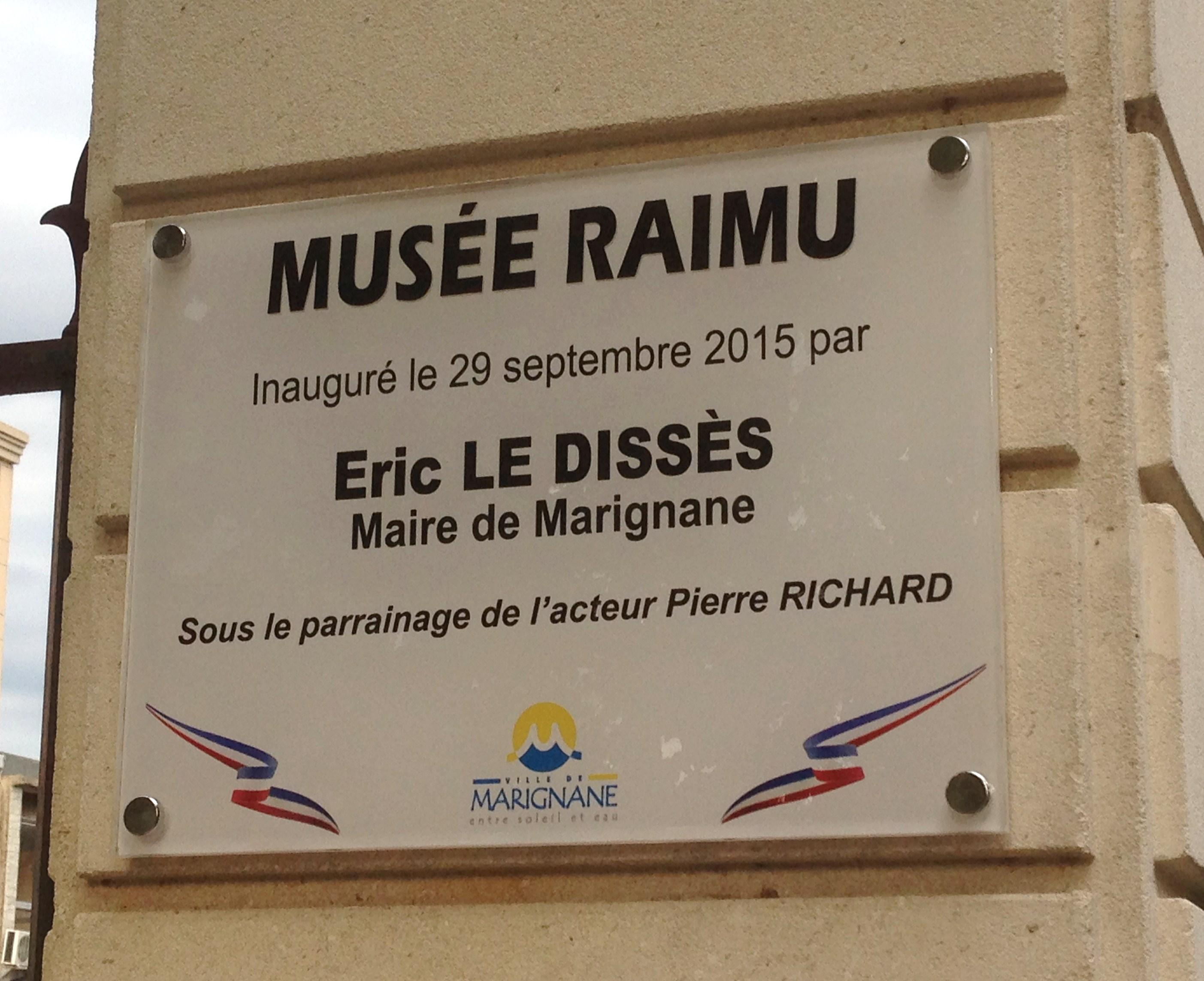 Inauguration musée Raimu