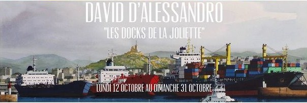 """Les Docks de la Joliette"" de David d'Alessandro"