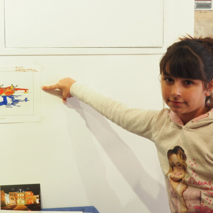 Atelier enfant - expo D D'Alessandro