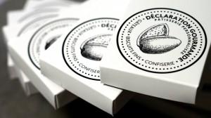 Gourmandises personnalisées - Déclaration Gourmande