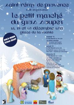 Un Noël à Saint Rémy de Provence - marché de Noel - santons - 13 desserts