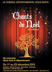 Les chants de Noël du Cg13 - Provence Bouches du Rhône