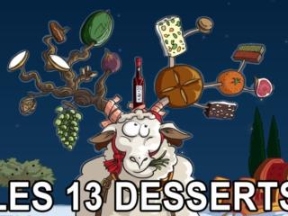 Marché des 13 desserts - Aix en Provence