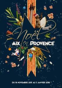 Noel Aix en Provence 2015 Marché de Noel foire aux santons