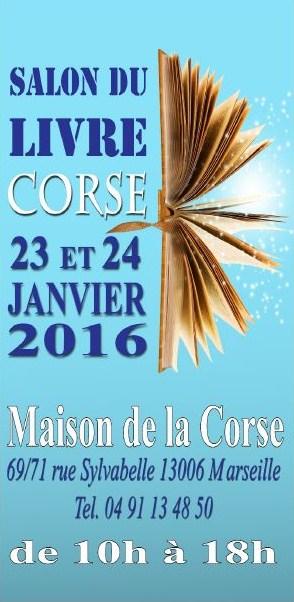 Salon du LIvre Corse - Maison de la Corse - Marseille