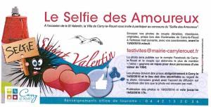 Le selfie des amoureux, oursinades Carry le Rouet