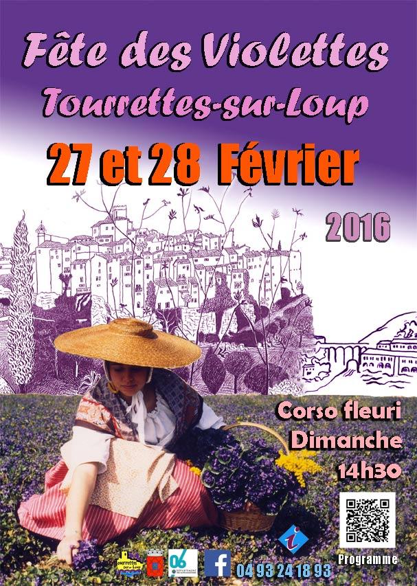 Fête des Violettes Tourrettes-sur-Loup