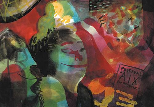 Festival d'Aix-en-Provence 2016 - Brecht Evens