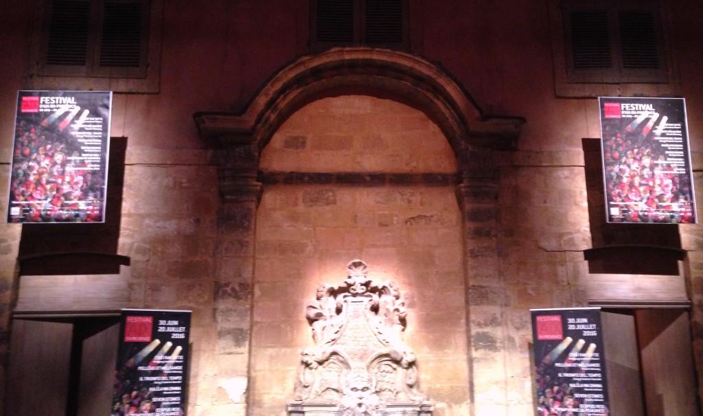 Festival d'Art Lyrique d'Aix en Provence 2016