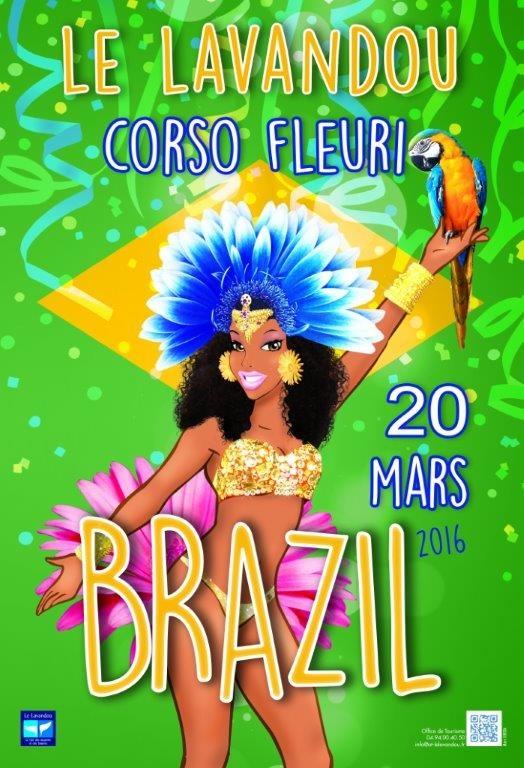 Corso Fleuri - Brazil- Le Lavandou