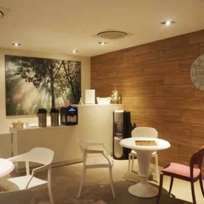 Espace lounge - tisanerie Vital spa, Decathlon Village