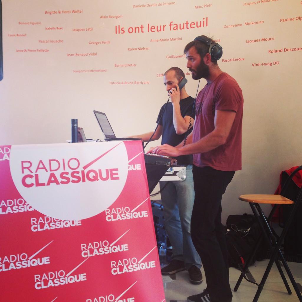 Radio Classique en direct du Festival de Pâques