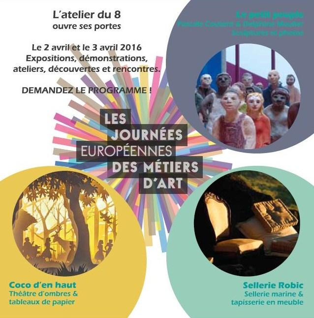 Portes ouvertes atelier Coco d'en Haut - Journées européennes des métiers d'art