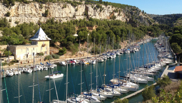 La calanque de Port Miou - ma Cigale est fantastique - myprovence
