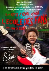 La Scene - Soirée Ecole des Fans