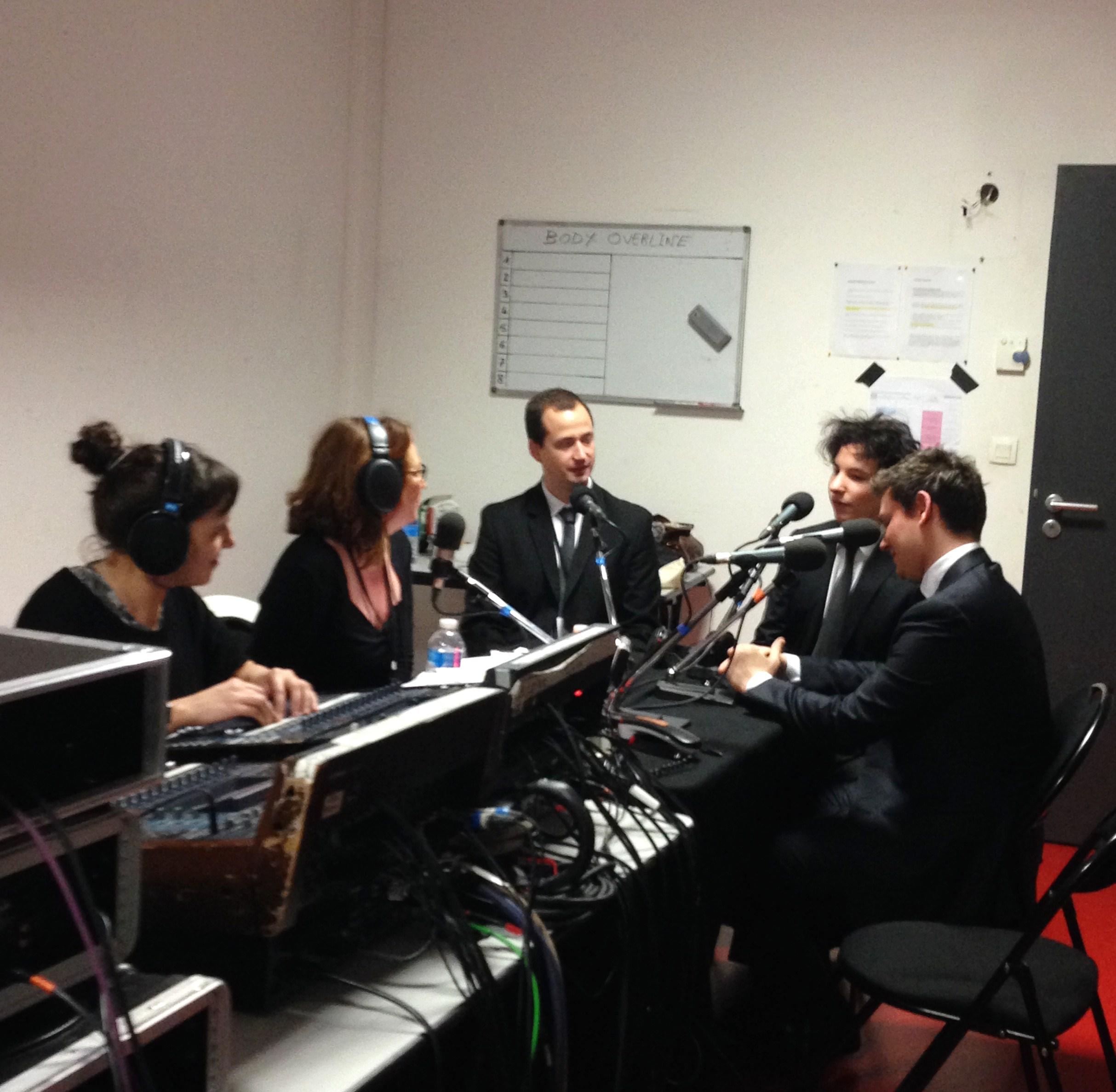 Festival de Pâques d'Aix en Provence - Studio Radio Classique - Edgar Moreau - Guillaume Chilemme - Adrien La Marca
