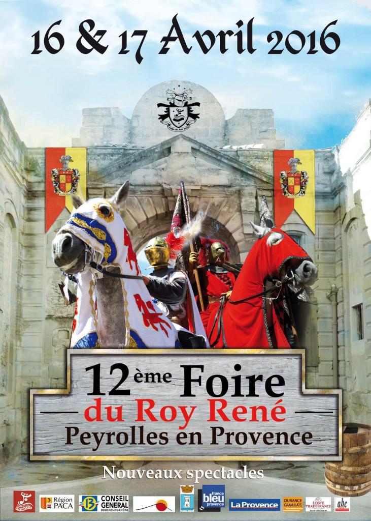 12e foire du Roy René Peyrolles en Provence