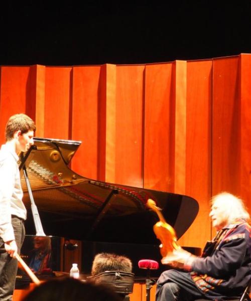 Festival de Pâques d'Aix en Provence - Master Class Ivry Gitlis
