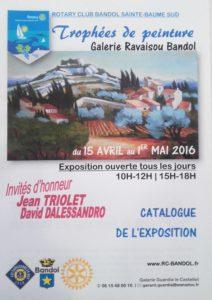 Trophées de peinture Bandol - Jean Triolet - David d'Alessandro
