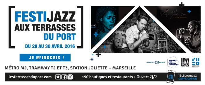 Festi Jazz Aux Terrasses du Port - Marseille