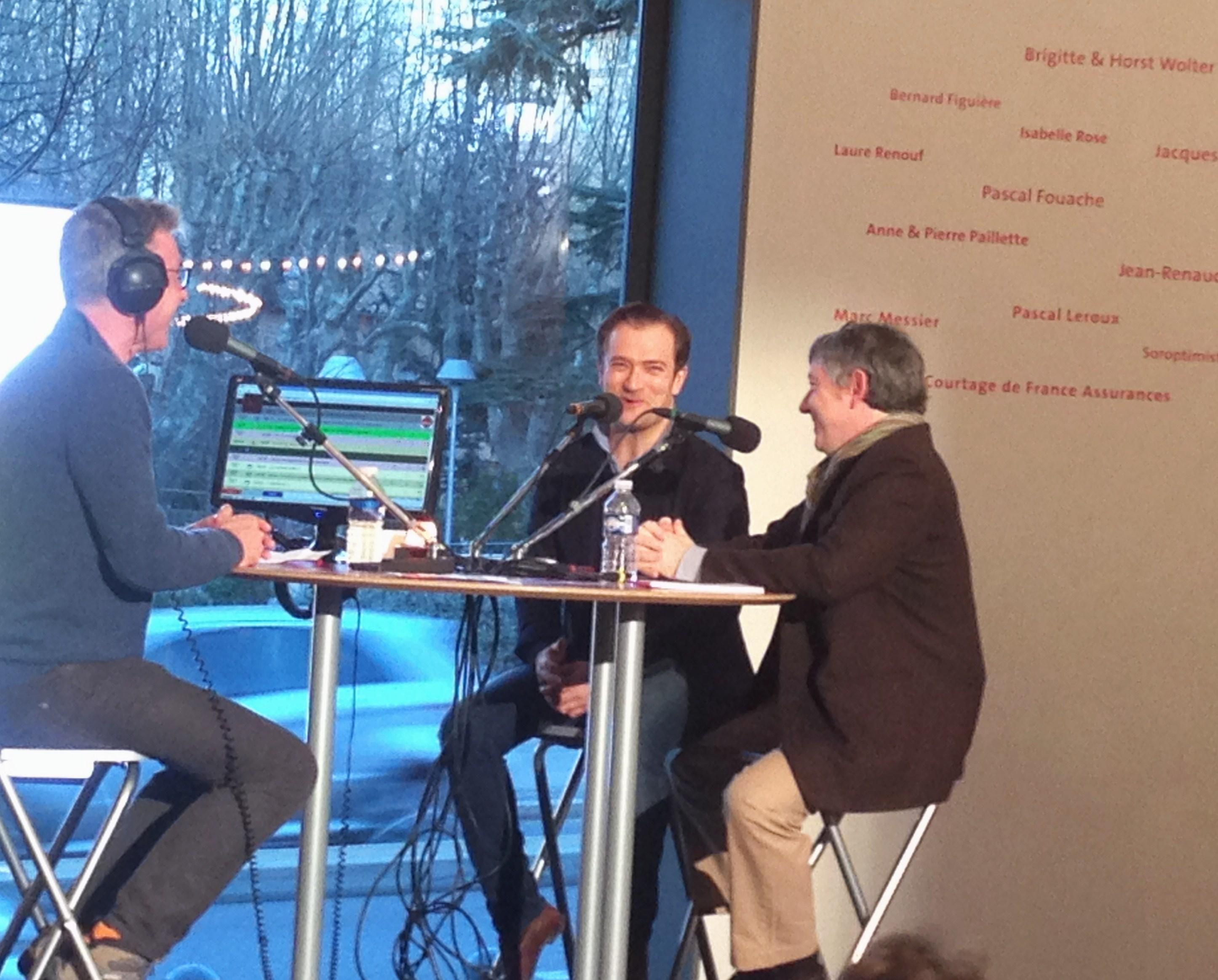 Festival de Pâques d'Aix en Provence - Radio Classique - Renaud Capuçon & Pierre Barthel - Oliver Bellamy