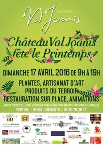 Le Château Val Joanis fête le printemps