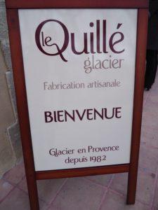 Le Quillé Glacier - La Roque d'Antheron