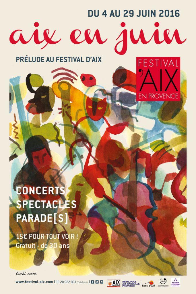 Aix en juin - Aix en Provence