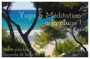 Yoga & méditation à la plage Sainte Croix - Provence