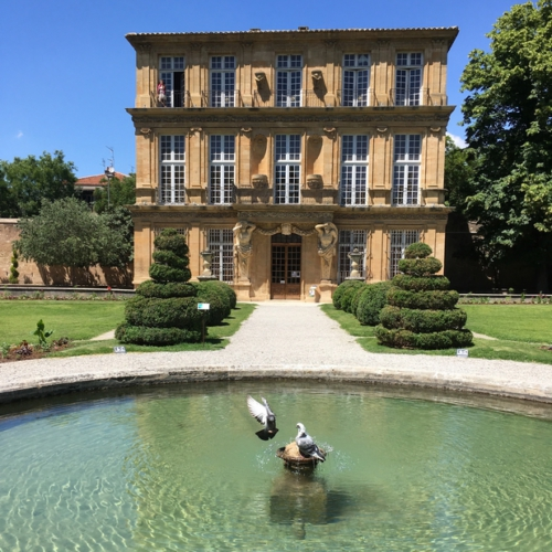En Vadrouille #2 avec un poisson Marcel et ma Cigale est fantastique - Aix en Provence Pavillon Vendôme