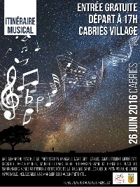 Itinéraire musical - Cabries village