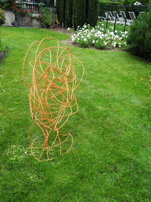 Gérard Coquelin - Flâneries d'Art contemporain dans les jardins d'Aix enProvence