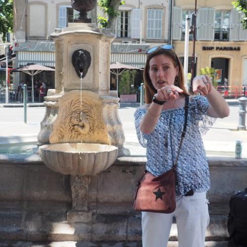 Mylène guide conférencière Secrets d'ici - Visites Aix en Provence