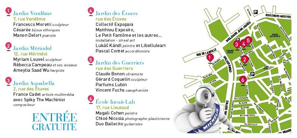 Flâneries d'Art contemporain dans les jardins d'Aix enProvence