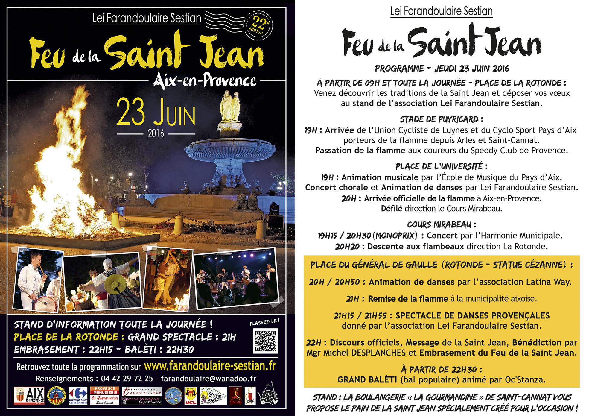 Fête de la Saint Jean - Aix en Provence - Lei Farandoulaire Sestian