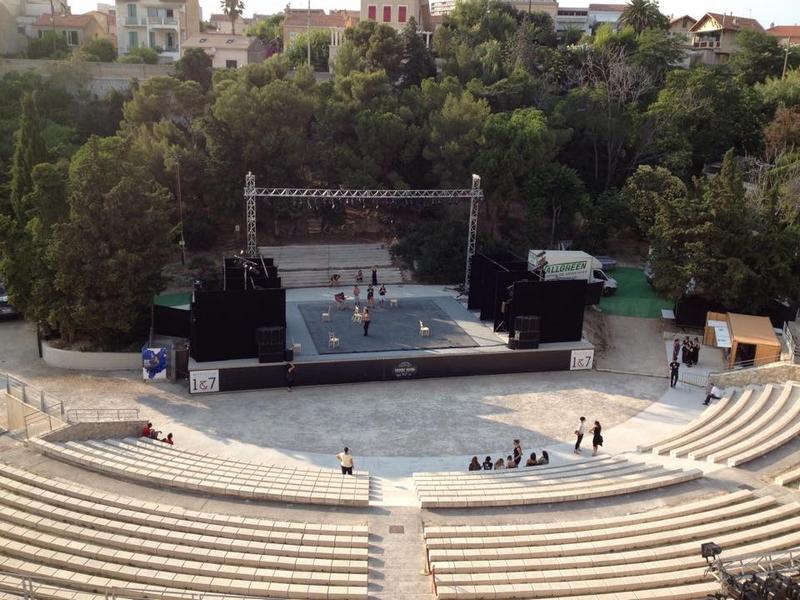 Theatre Sylvain Marseille - Des mots et des toiles