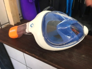 masque integral snorkeling